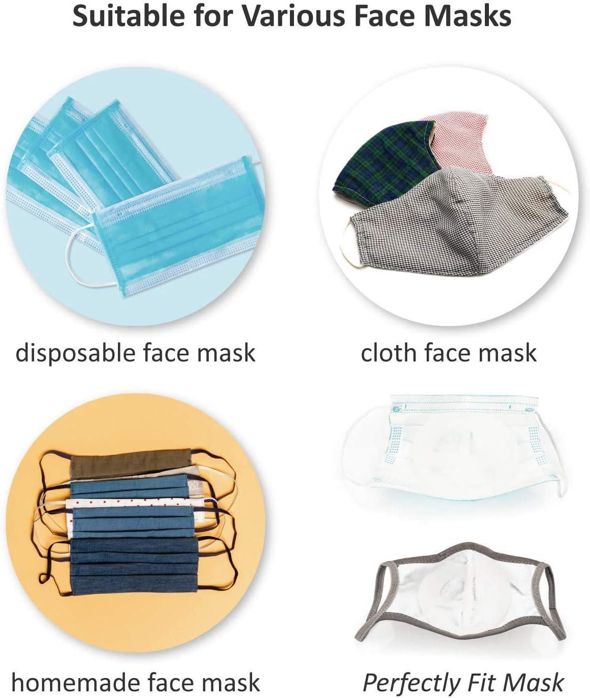 waschbar wiederverwendbar idealer Make-up-Schutz innerer St/ützrahmen f/ür bequemes Tragen in Mund und Nase transparent LDream Silikon-3D-Gesichtshalterung indem mehr Platz zum Atmen geschaffen wird 5 St/ück