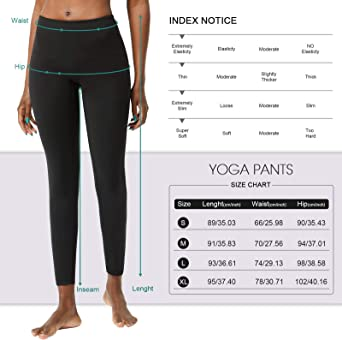 WINTAPE Yoga Hose Damen mit hoher Taille Enge Yoga Hose Workout Leggings