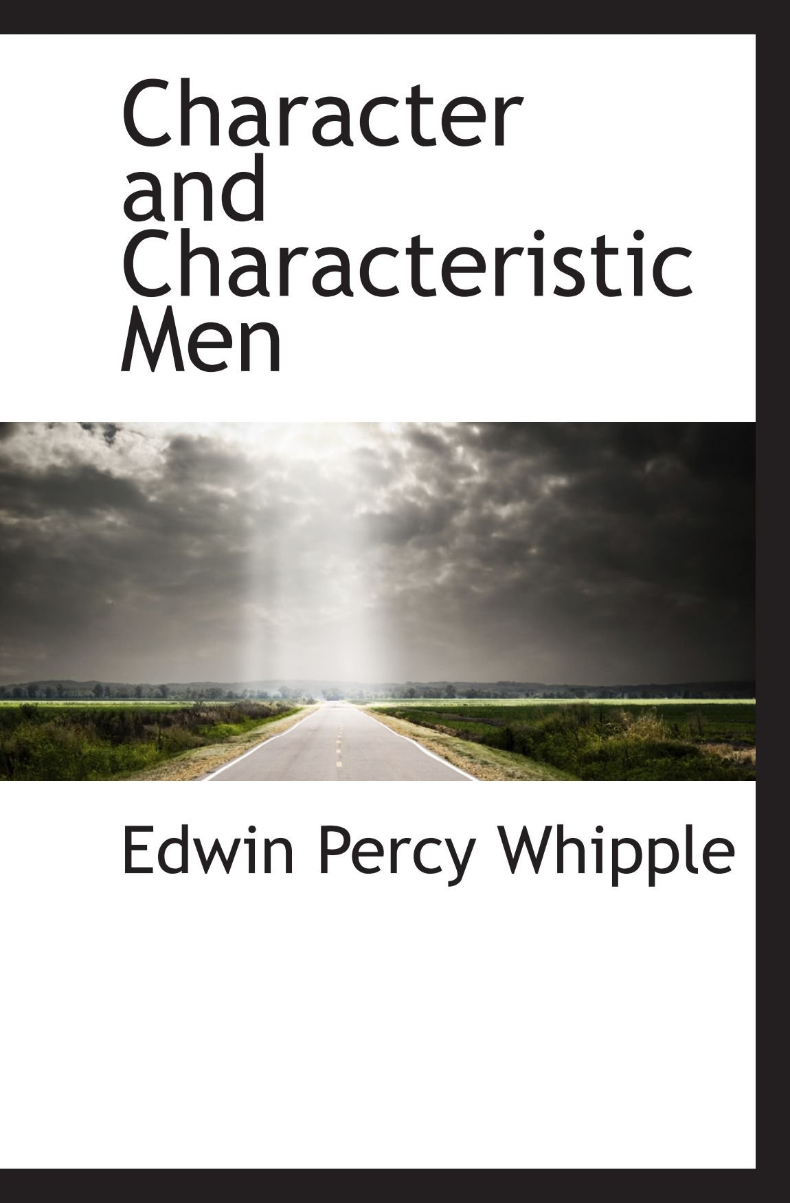 Character and Characteristic Men PDF