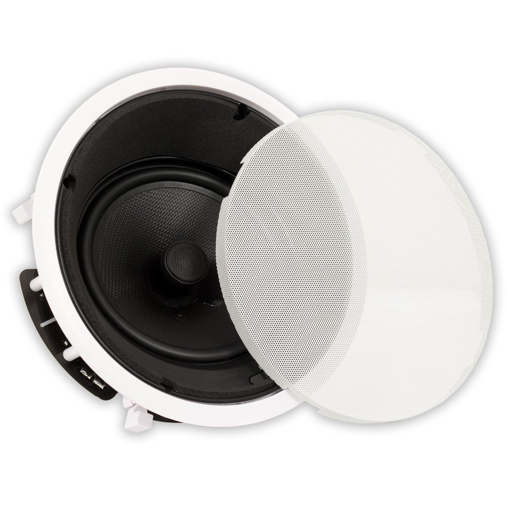 Theater Solutions TS80A in Ceiling 8'' Angled Speaker Home Theater Surround Sound