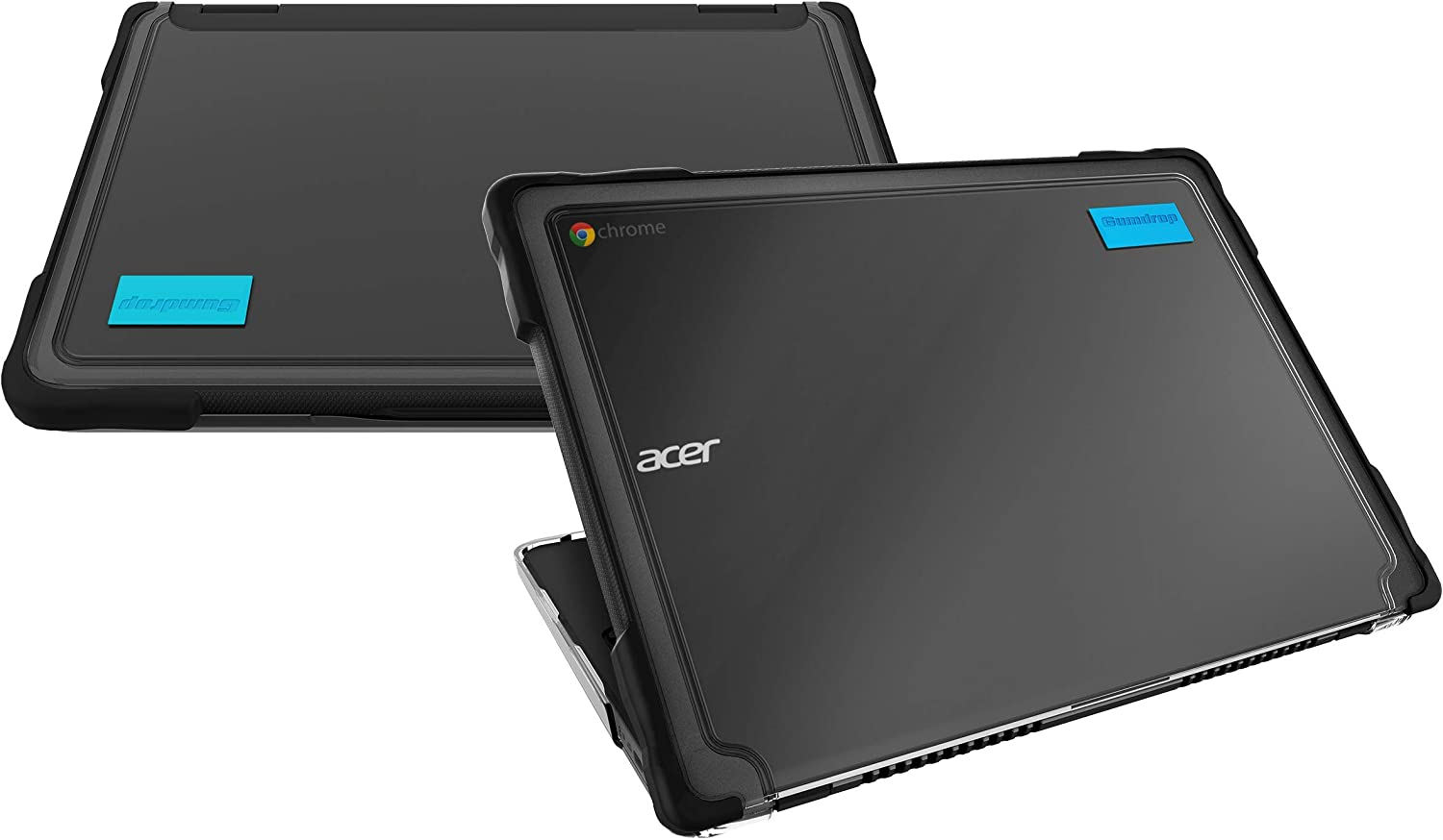 Gumdrop SlimTech Case Designed for Acer Chromebook 712 (C871) Laptop for Students, Education, Kids, School - Slim, Lightweight, Protection from Bumps and Scratches