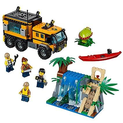 709370d3c52f Amazon.com: LEGO City Jungle Explorers Jungle Mobile Lab 60160 ...