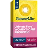 Renew Life #1 Women's Probiotics 25 Billion CFU Guaranteed, 10 Strains, Shelf Stable, Gluten Dairy & Soy Free, 30…