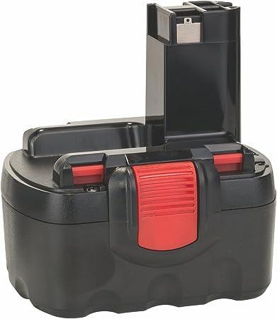 red for Bosch 2 607 335 465 TOOL BATTERY 3000mAh 14.4V black 2 607 335 528