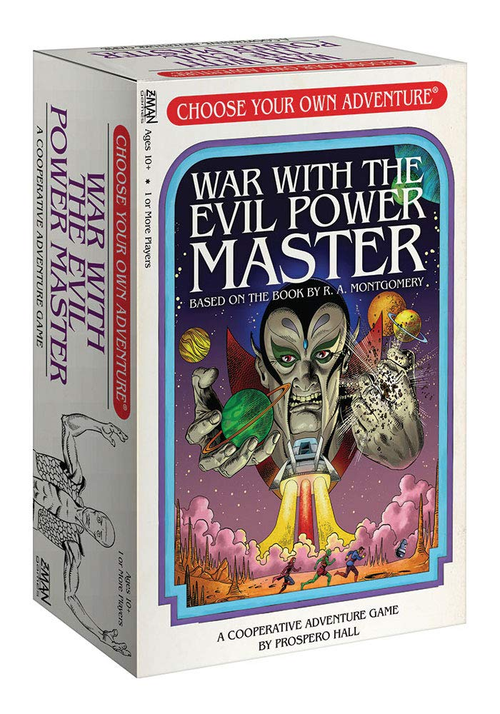 Choose Your Own Adventure: War with The Evil Power Master by Z-Man Games