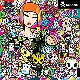 tokidoki 2018 Wall Calendar