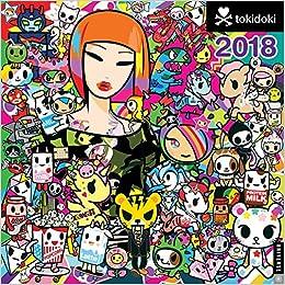 Tokidoki 2018 Wall Calendar: Amazon.es: Simone Legno: Libros ...