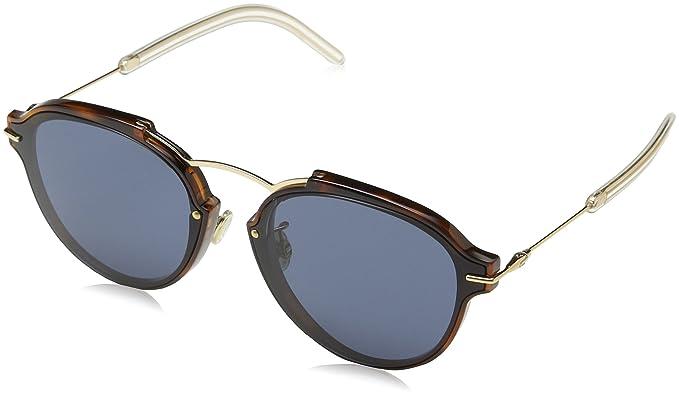 Amazon.com: Dior Eclat ugm/72 havana-rose oro/gris, anteojos ...