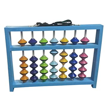 7 ROD TEACHER ABACUS - MULTICOLOR WITH COVER