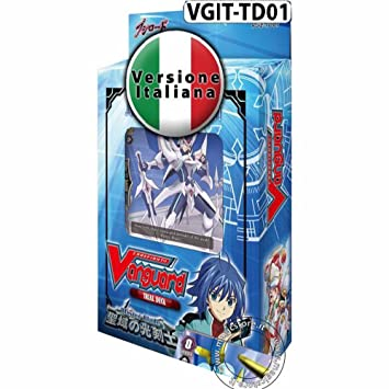 vanguard deck italiano  Bushiroad - Trial Deck Cardfight!! Vanguard DISTRUTTORE DELLE LAME ...