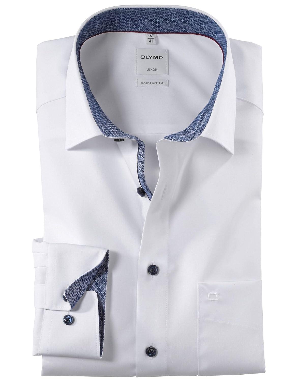 Olymp - Camisa Formal - Liso - Clásico - para Hombre