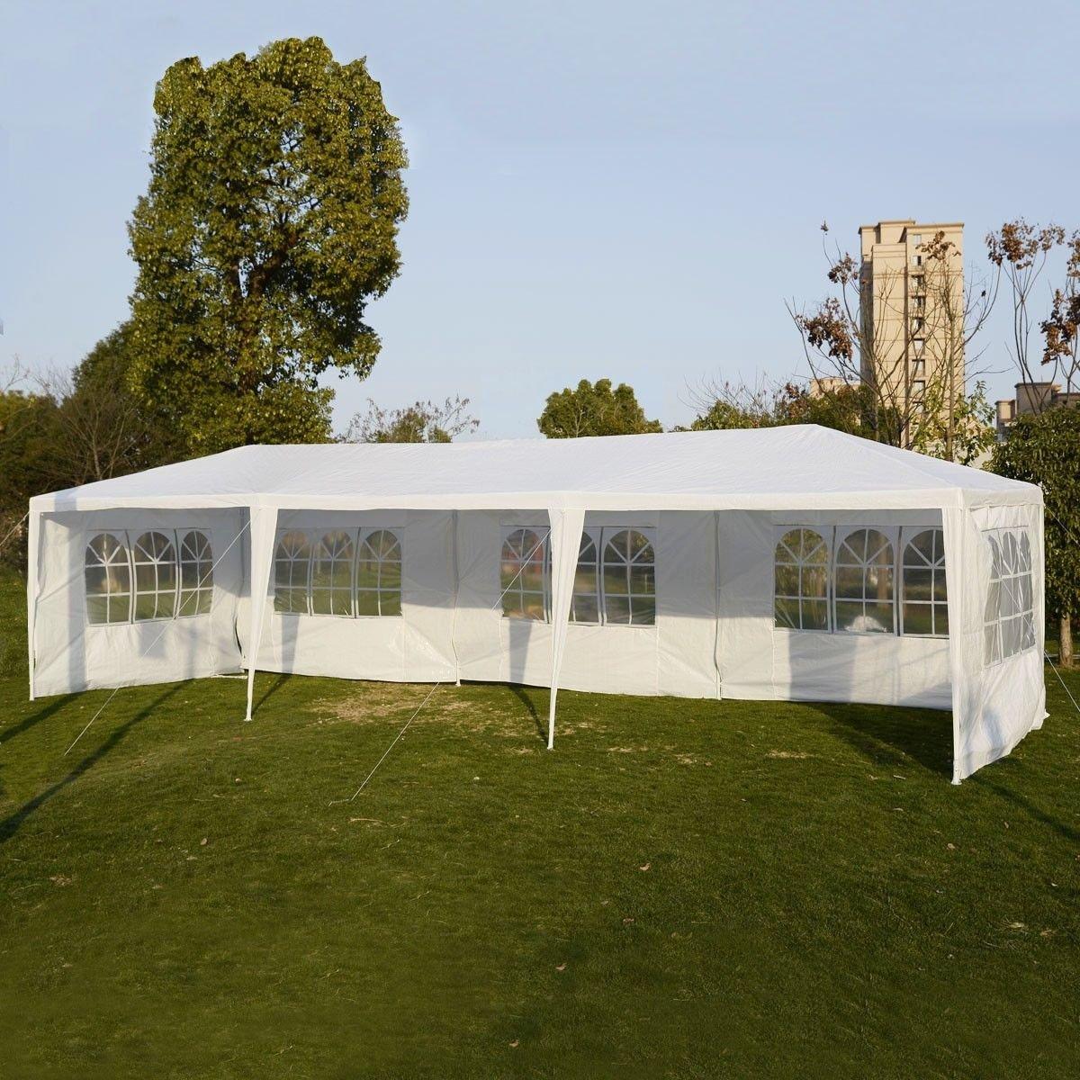 Party Outdoor Tents 10'x30' Wedding Patio Canopy Heavy Duty Gazebo Pavilion Event