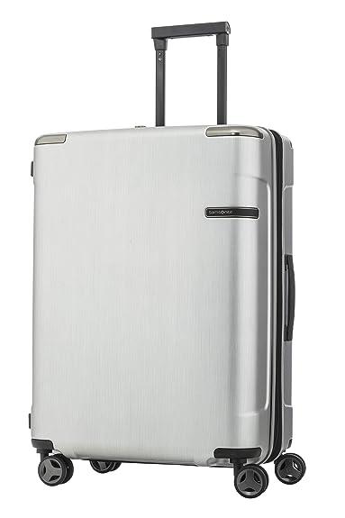 ae9cd0e4d2 Amazon | [サムソナイト] スーツケース キャリーケース エヴォア スピナー69 保証付 82L 69 cm 4.7kg ブラッシュドシルバー  | SAMSONITE(サムソナイト) | スーツケース