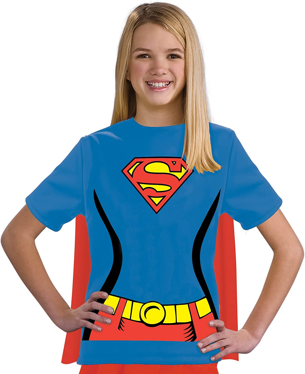 Kit disfraz de Supergirl DC Comics para niña: Amazon.es: Ropa y ...
