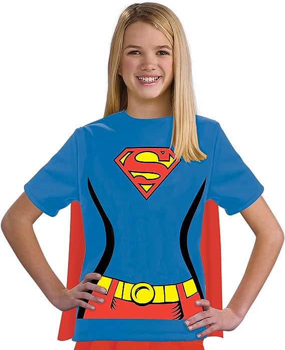 Kit disfraz de Supergirl DC Comics para niña: Amazon.es: Ropa y ...