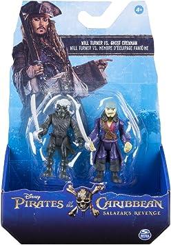 Bizak Piratas del Caribe - Pack 2 Figuras de Ghost Crew y Will Cursed 61923101: Amazon.es: Juguetes y juegos