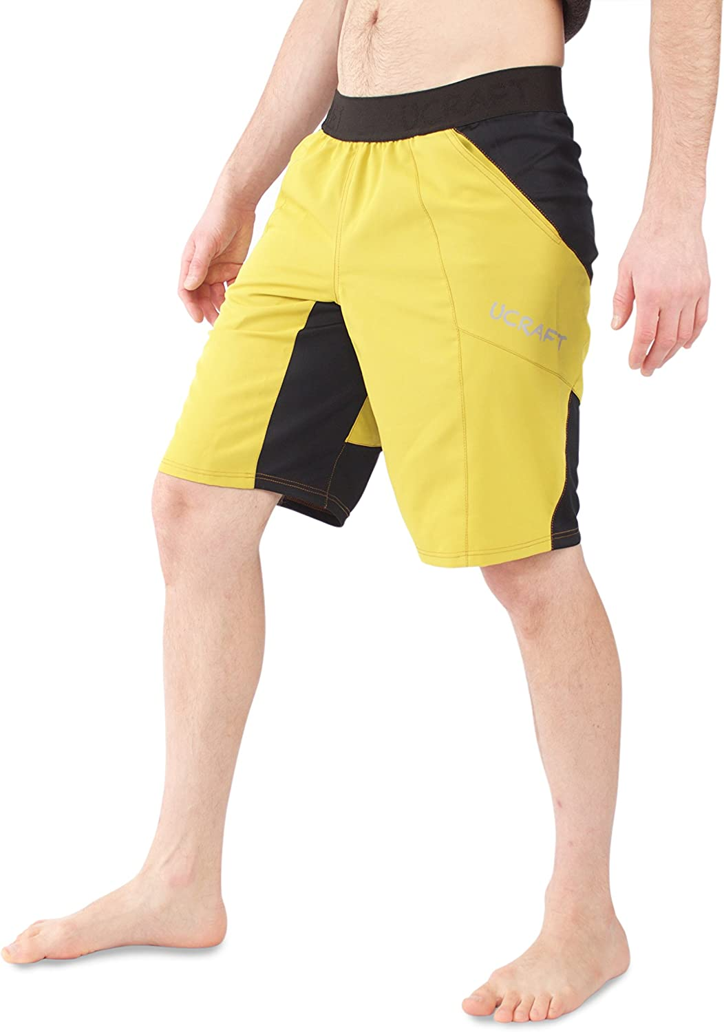Lightweight and Breathable Multisport Shorts. Ucraft Climbing Anti-Gravity Shorts Stretchy