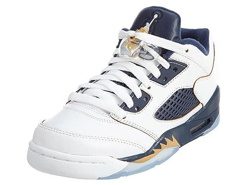 Nike Air Jordan 5 Retro Low (GS), Zapatillas de Baloncesto para ...