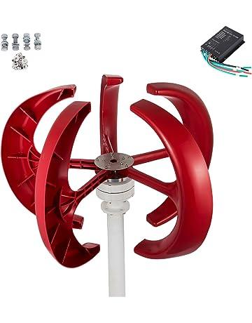 Moracle Regenerador Eléctrico del Viento de la Turbina de Viento Generador de Viento 12V / 400W