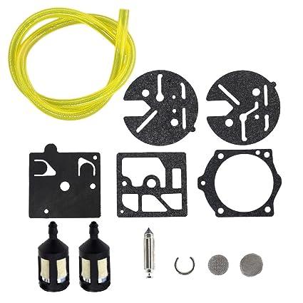 Amazon com : USPEEDA Carburetor Carb Repair Rebuild Kit for HDC 360