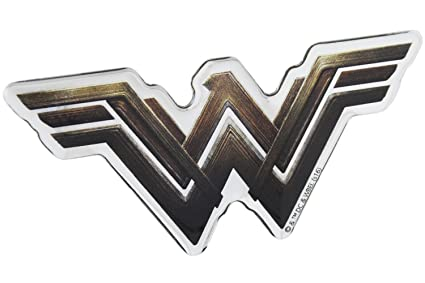 Amazon Fan Emblems Wonder Woman Logo Car Decal Domedmulticolor