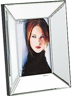 Spiegel Mit Bilderrahmen amazon de bilderrahmen spiegel 8 bilder 72x36cm