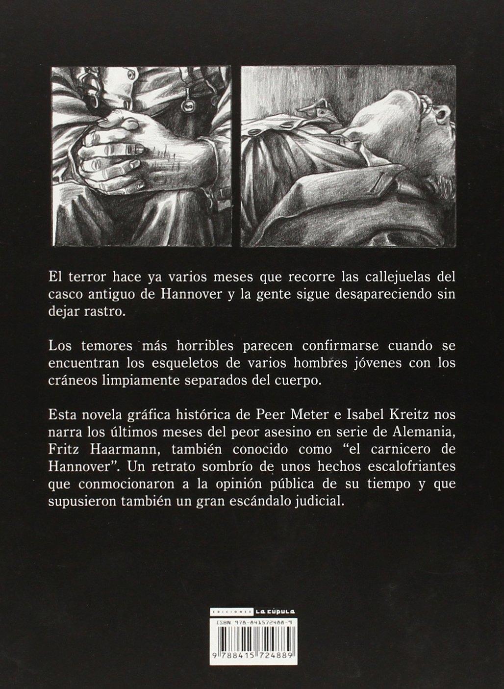 HAARMANN EL CARNICERO DE HANNOVER (RUSTICA): Peer Meter: 9788415724889: Amazon.com: Books