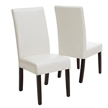 Magnificent Amazon Com Best Selling Lima Ivory Pu Dining Chair White Gmtry Best Dining Table And Chair Ideas Images Gmtryco
