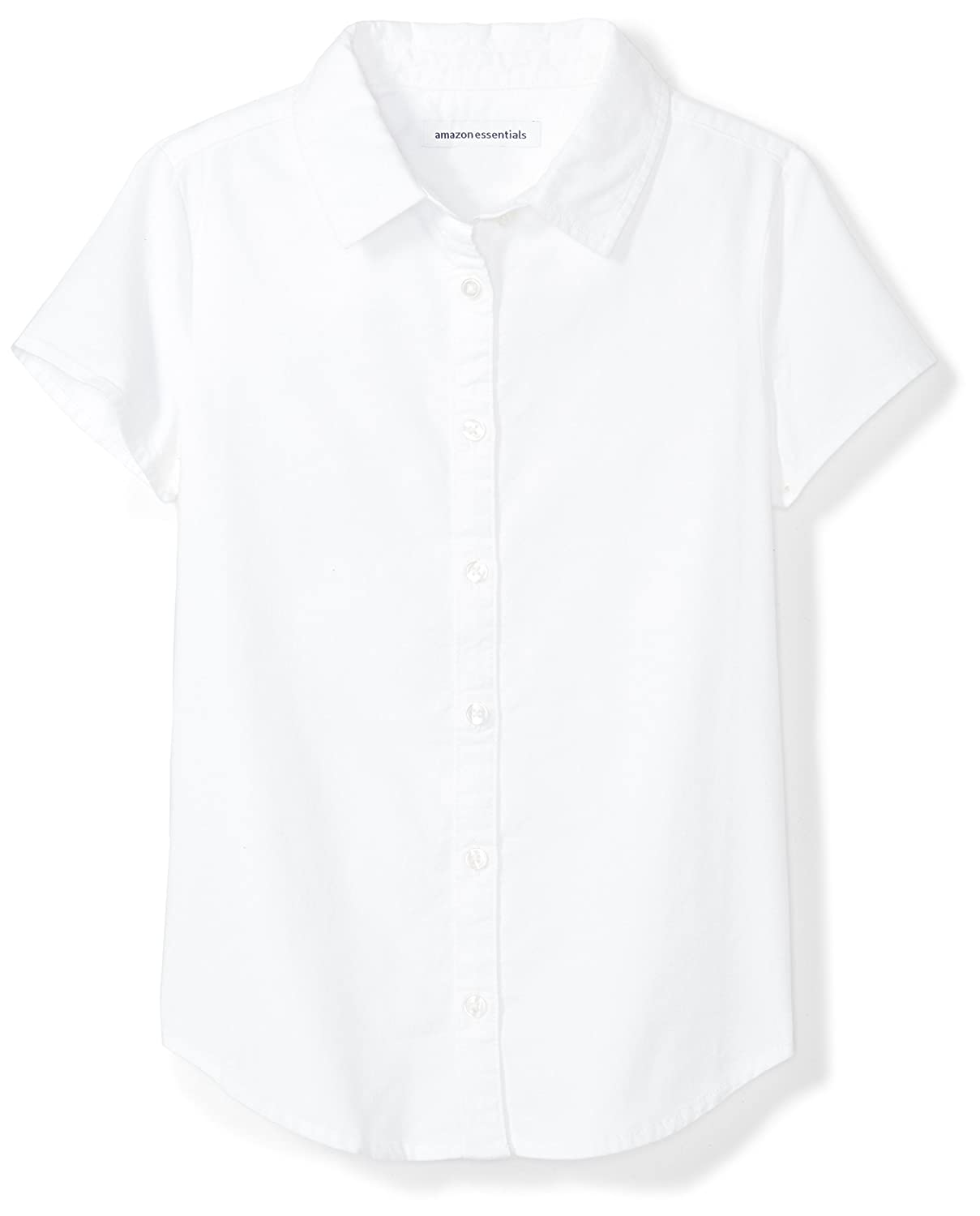 Essentials Girls Short Sleeve Uniform Oxford Shirt