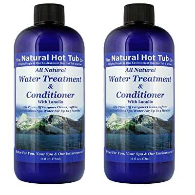 The Natural Hot Tub Company Water Treatment and Conditioner (2-Pack): Pet Supplies