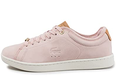 2837056e62 Lacoste Carnaby Evo 317 8 Rose Marron: Amazon.fr: Chaussures et Sacs