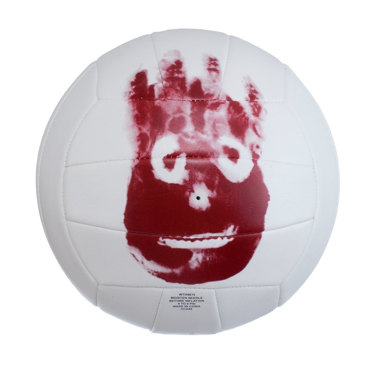Wilson Mr. Wilson (Seul au monde) Ballon de beach volley Blanc WTH4615XDEF ballon de volley ballon de volley ball ballon de volleyball
