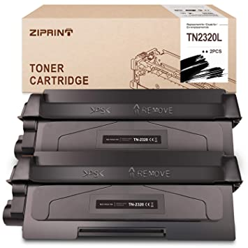 ZIPRINT 5200 Páginas Tóner Compatible Brother TN2320 TN-2320 para ...
