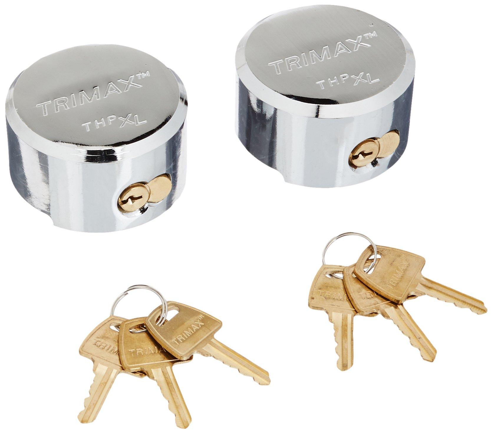 Trimax THP2XL Keyed Alike Trailer Door Lock, (Pack of 2) by Trimax