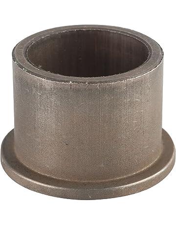 Sintered Bronze Metric Flanged Sleeve Bearings 10 mm Length x 16 mm Genuine Oilite/® Flange Diameter x 1.5 mm OD x 6 mm SAE 841 ID x 13 mm Flange Thickness