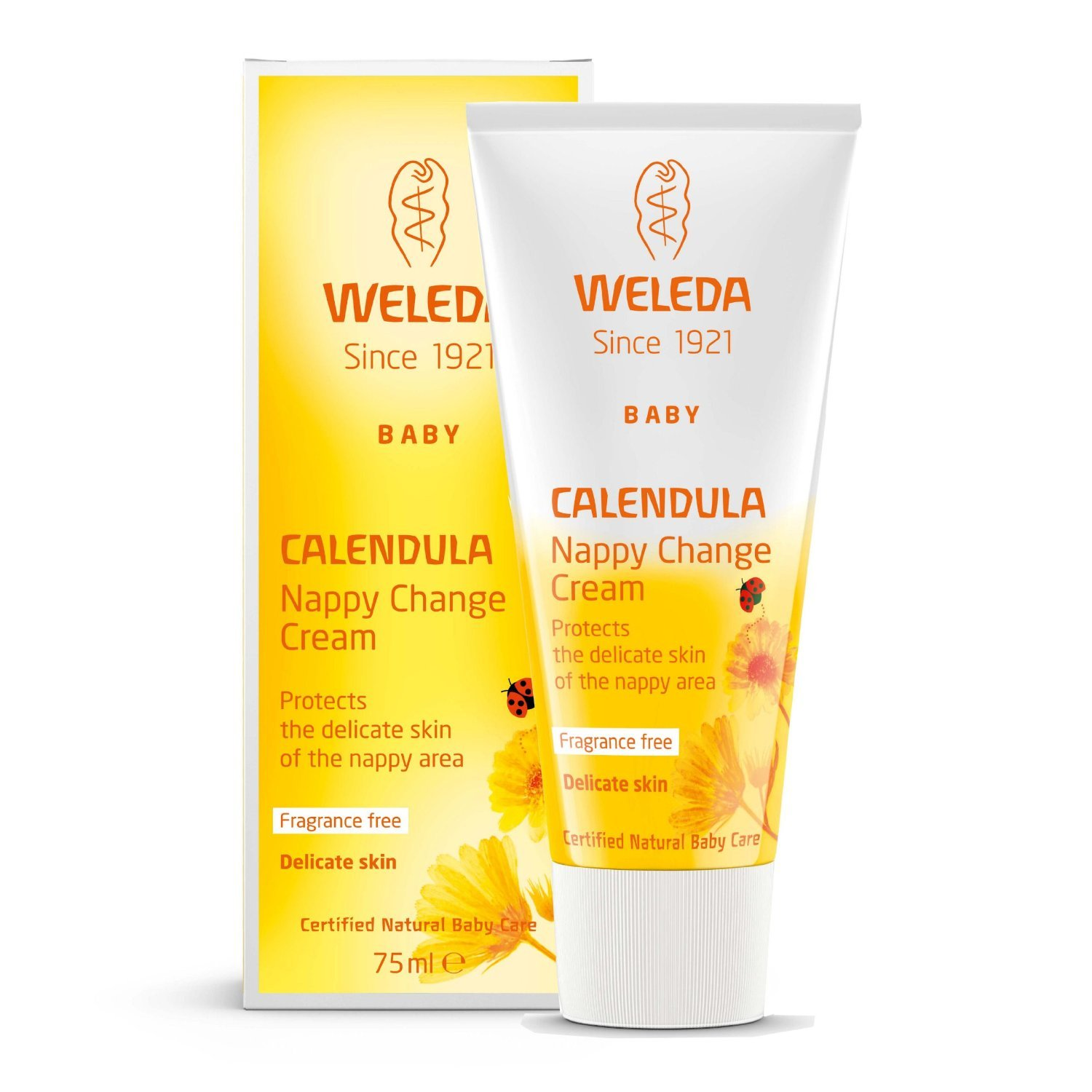 (2 Pack) - Weleda - Calendula Nappy Cream | 75ml | 2 PACK BUNDLE