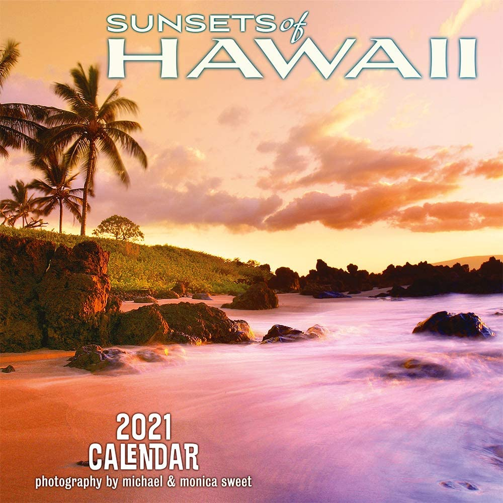 Amazon.: Pacifica Island Art Hawaii 2021 Wall Calendar