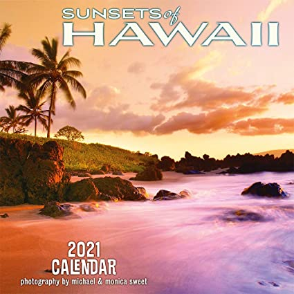 Pacifica Island Art Hawaii 2021   Calendario da parete, motivo