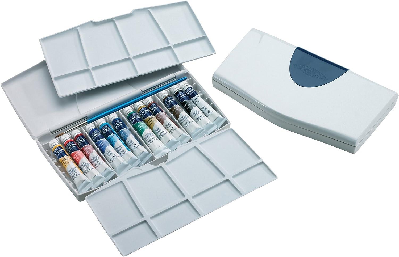 Winsor & Newton Cotman - Pack de 12 tubos de pintura para acuarela ...
