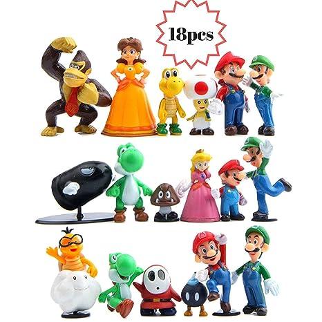 e22f66d624 Amazon.com  Coolinko 1 Jumbo Mario Toy Filled Plastic Easter Egg ...