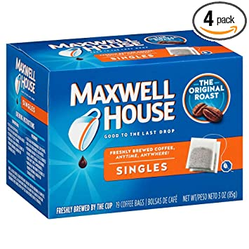 Amazoncom Maxwell House Original Blend Ground Coffee Medium