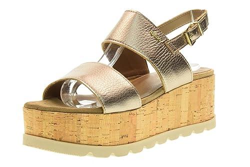 IGI&CO scarpe donna sandali con zeppa 78622/00 taglia 36 Champagne