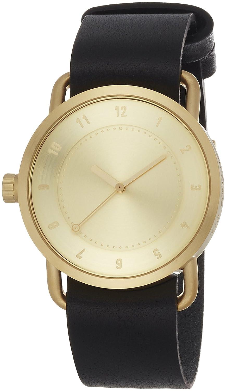 [ティッドウォッチ]TID Watches デザイナーズウォッチ NO.1 引き通し TID01-GD/BK 【正規輸入品】 B01M9AHA3B