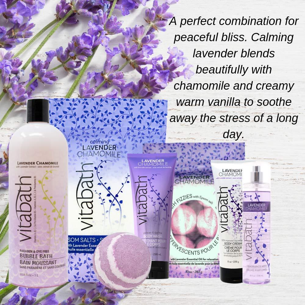 Vitabath LAVENDER CHAMOMILE 33.8 fl oz Bubble Bath: Beauty