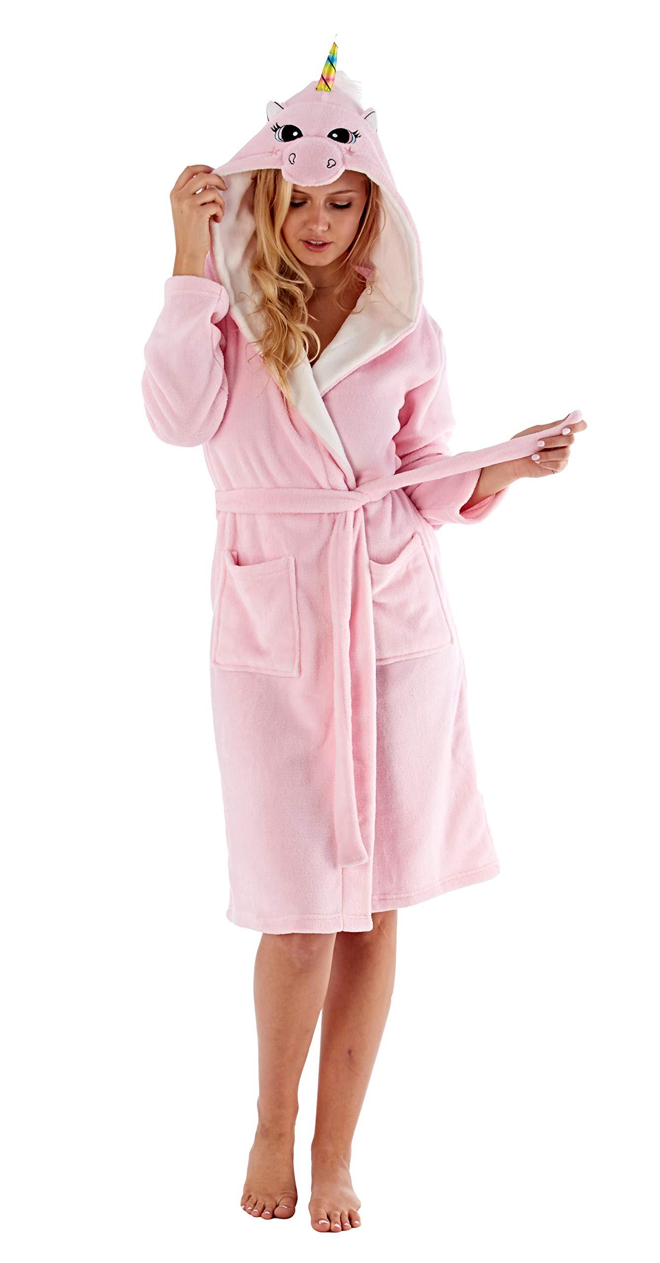 Mujer Animal Capucha Bata Cálido De Invierno Polar Cómodo Calcetines product image