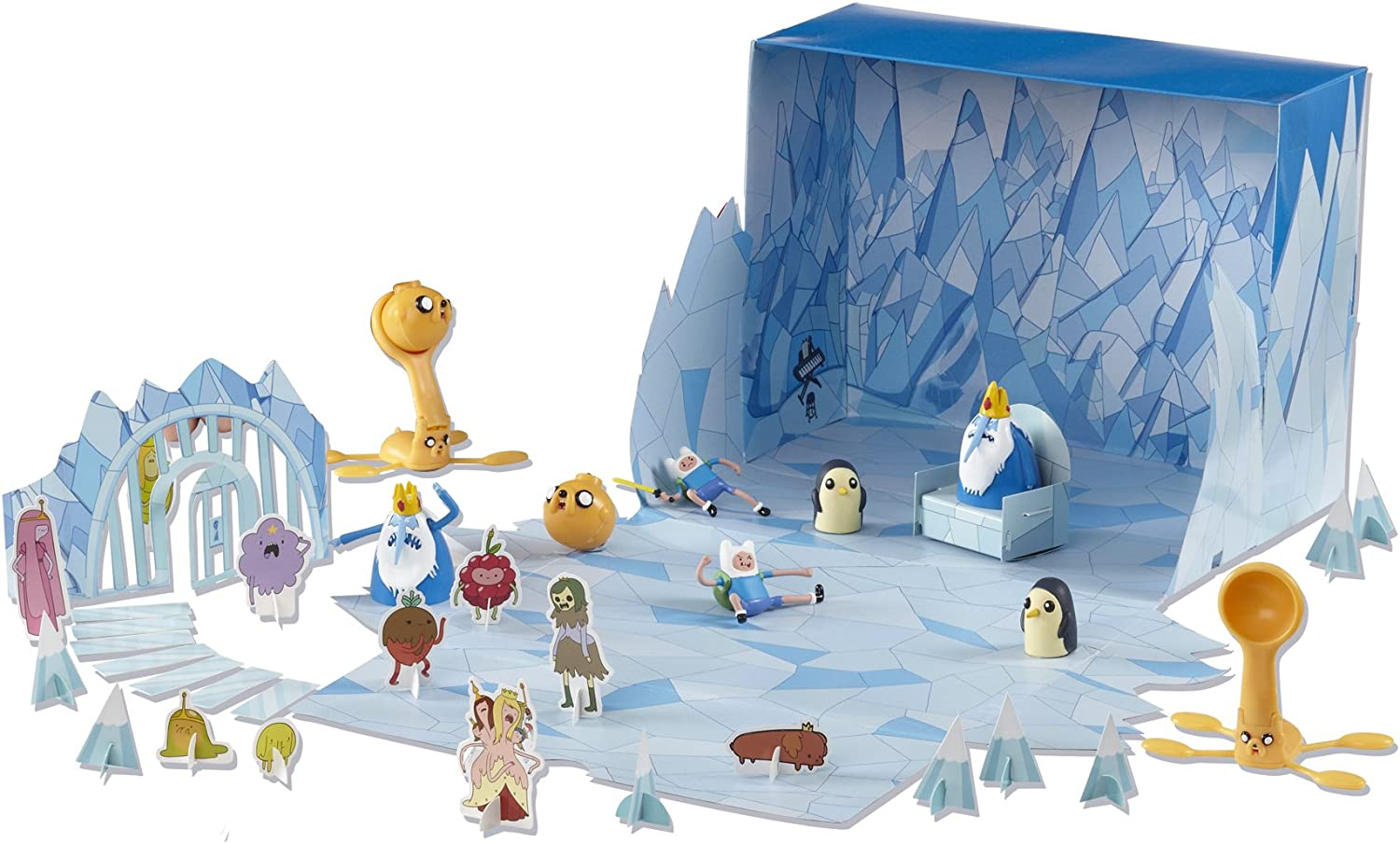 Adventure Time 8-Pièce Jake Battle of OOO figure pack