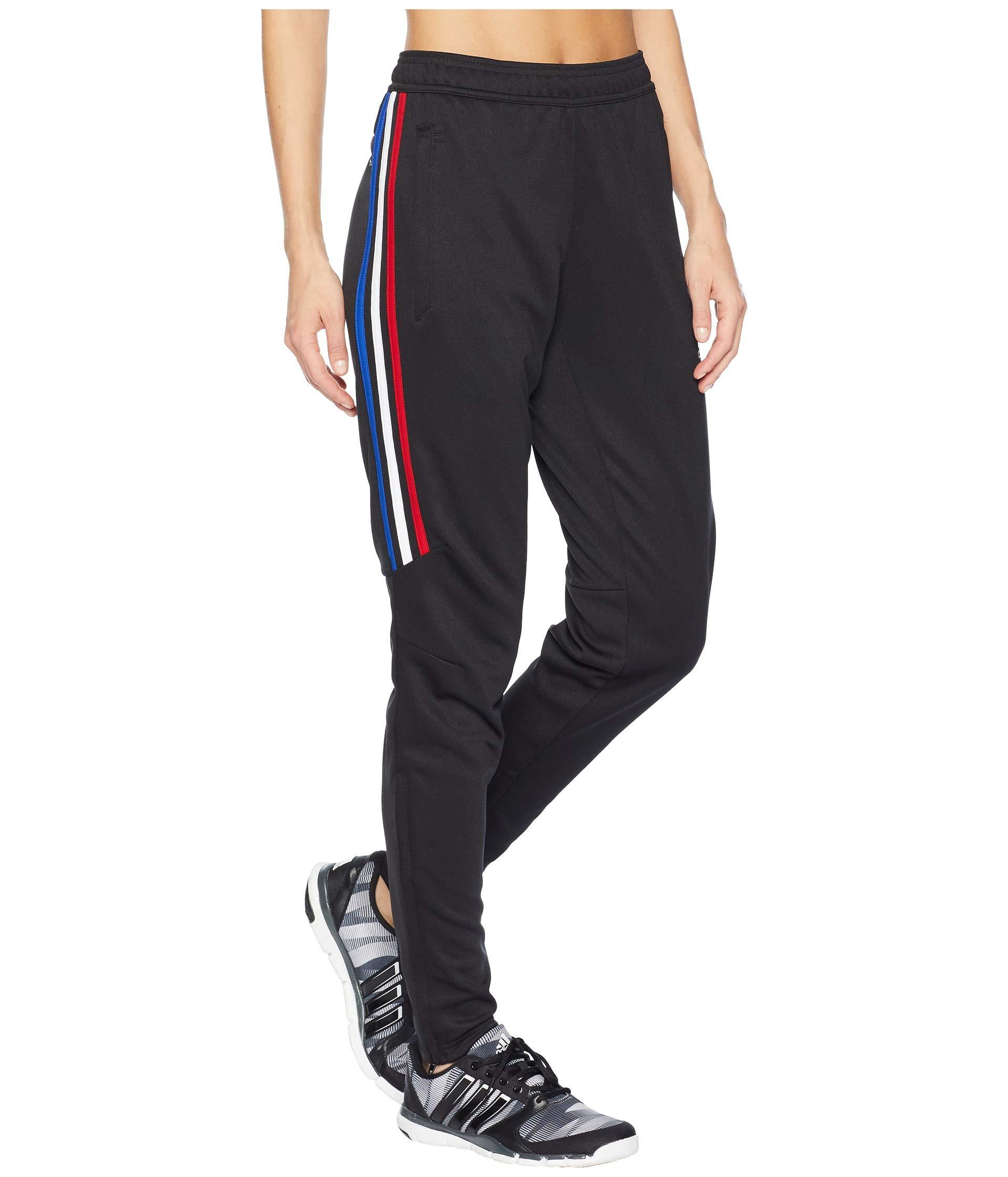 adidas Tiro '17 Pants Black/Power Red/White/Bold Blue 2XL by adidas