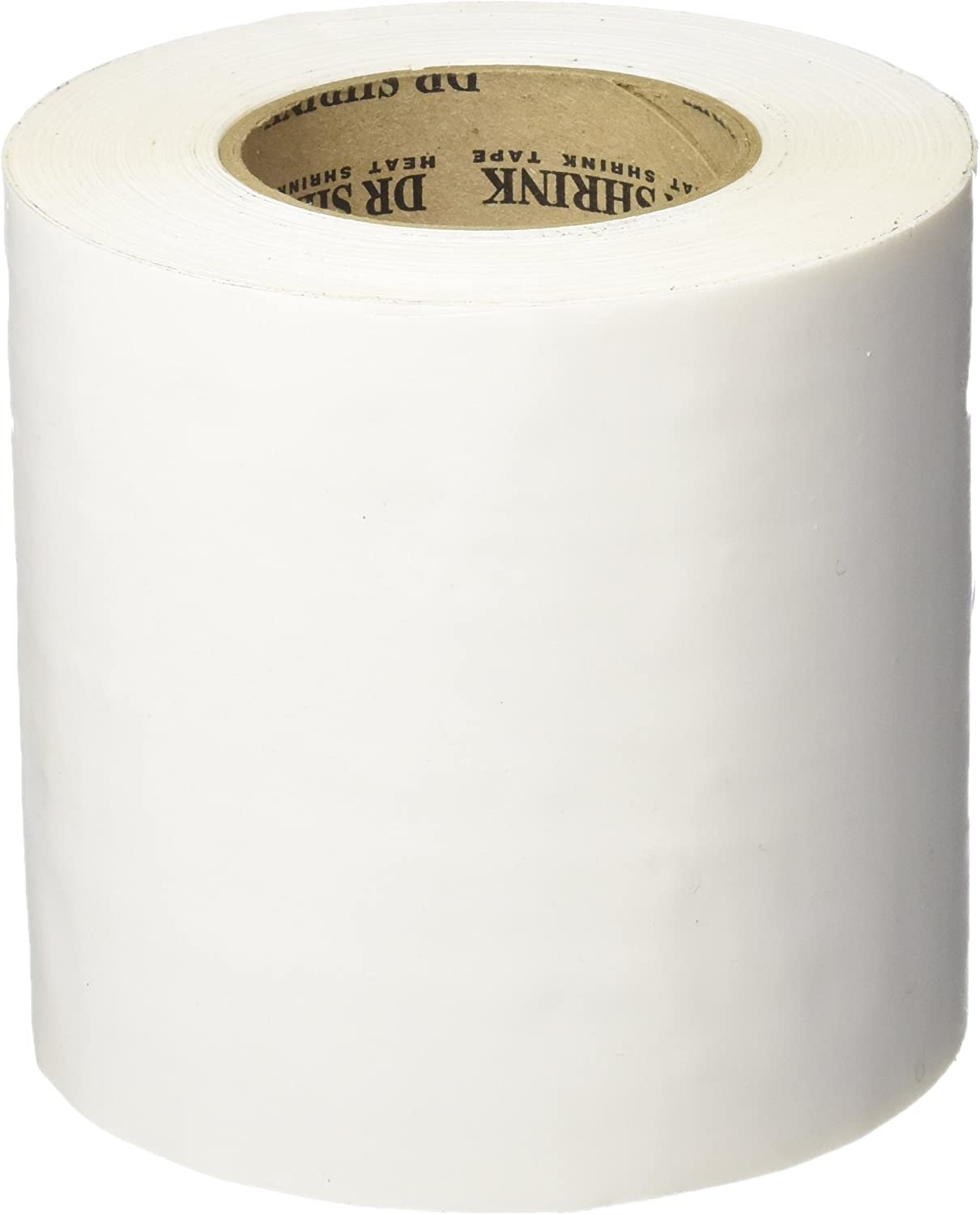 "Heat Shrink Tape 4"" x 60 Yd 4 Rolls DR SHRINK White DS 704 W 180'"