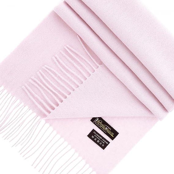 Emporio Balzani echarpe laine   cachemire rose - Taille unique ... b6a8cb5e88c