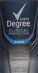 Degree Men Clean Clinical Antiperspirant Deodorant 1.7 oz